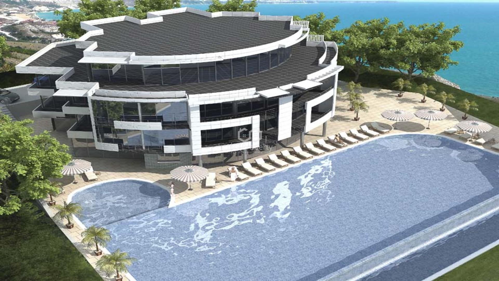 Двухкомнатная квартира Топола 83,27 m2