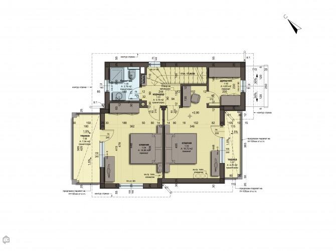 Дом Лахана Бургас  132 m2