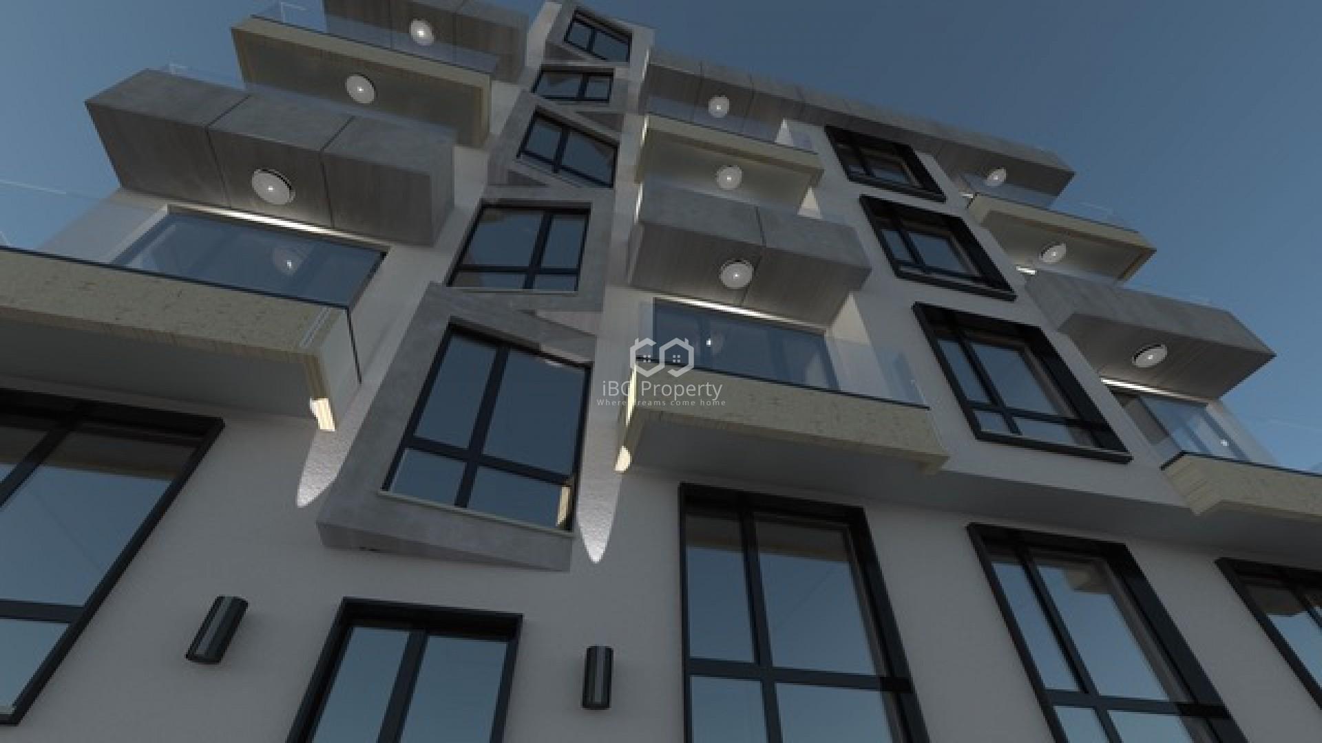 Двухкомнатная квартира Цветен квартал Варна  44 m2