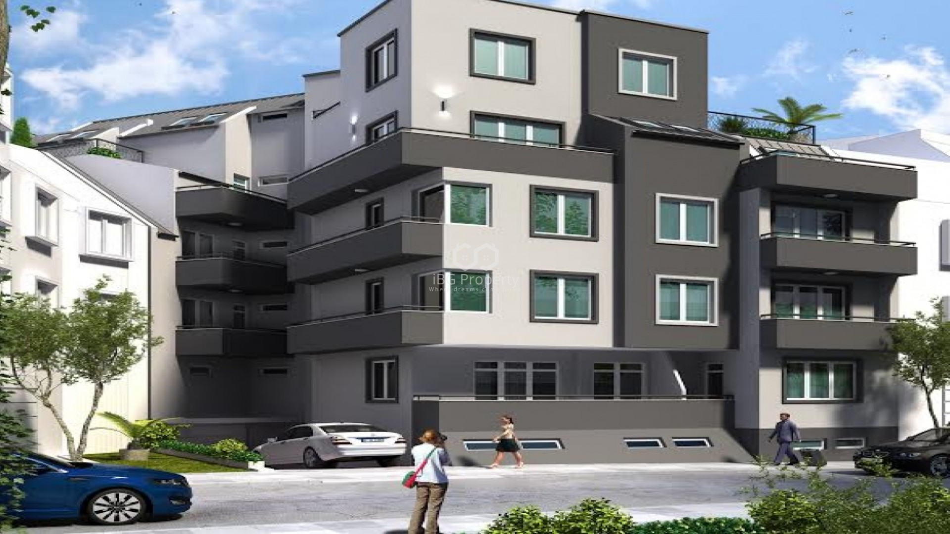 Двухкомнатная квартира Погреби Варна 62 m2