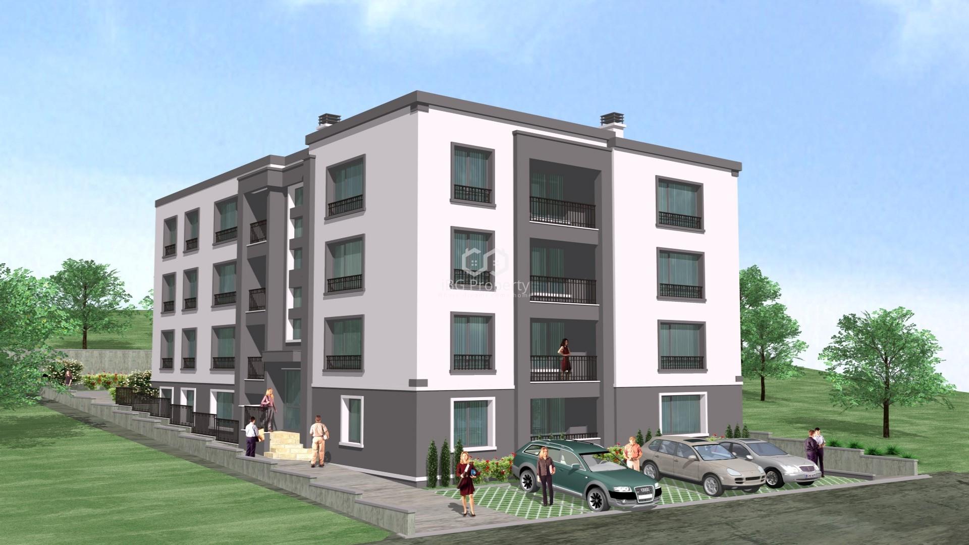 Двухкомнатная квартира Пчелина Варна 30 m2