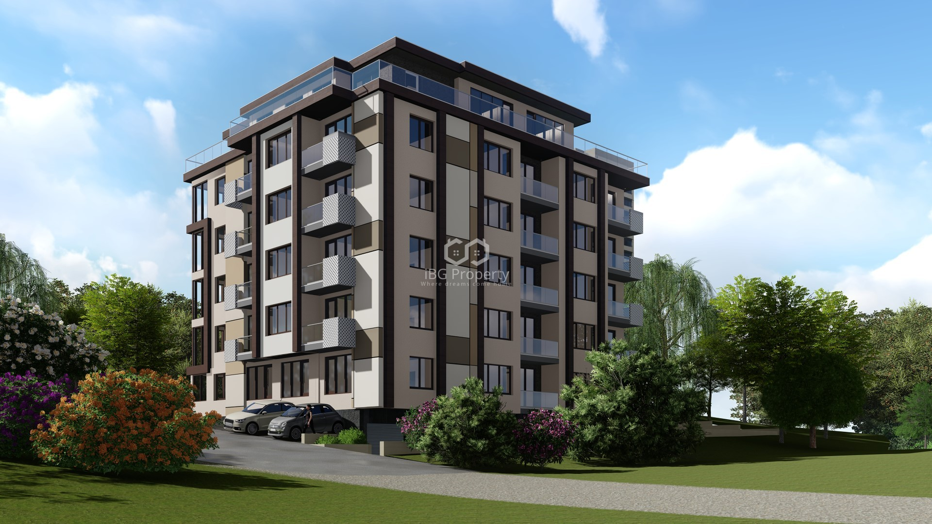 Трехкомнатная квартира Младост Варна 85 m2