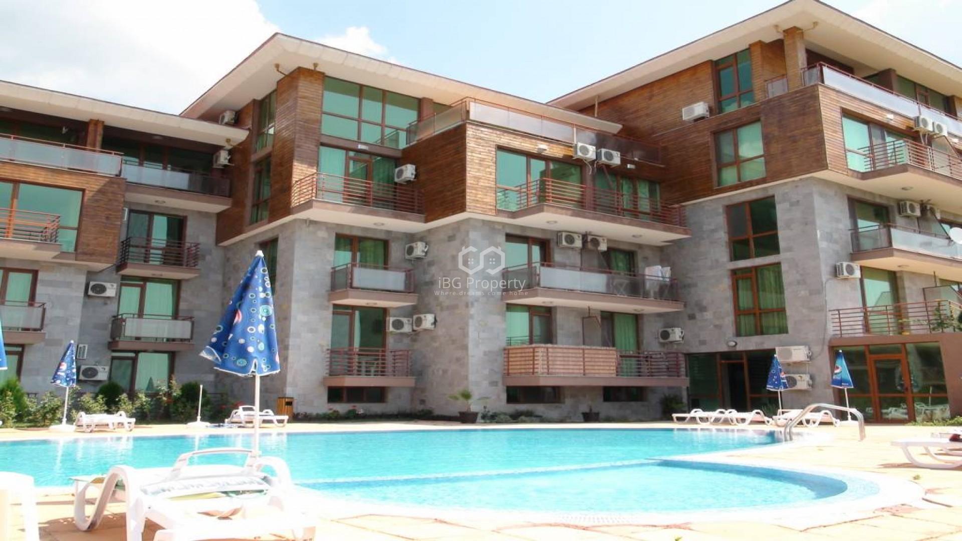 Двухкомнатная квартира Солнечный берег 70 m2