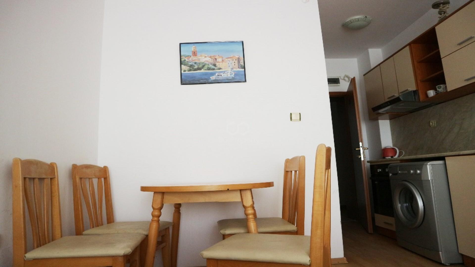 Однокомнатная квартира Слънчев Бряг 31 m2