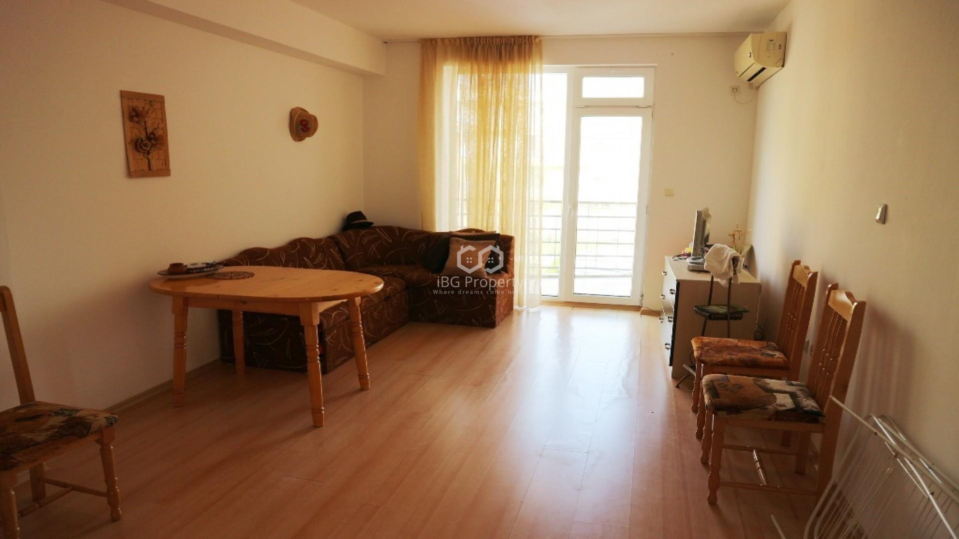 Двухкомнатная квартира Слънчев Бряг 54 m2