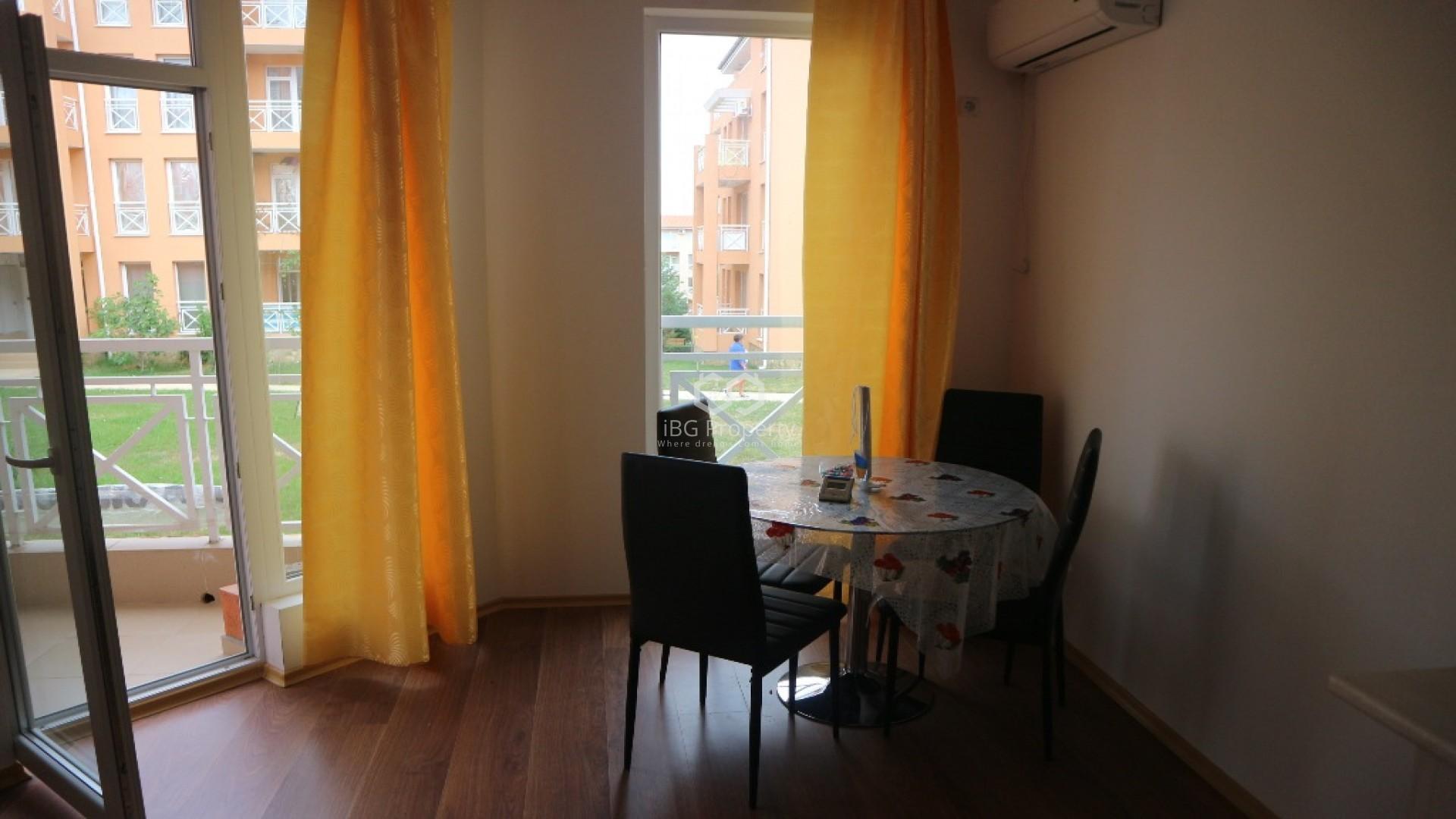 Двухкомнатная квартира Слънчев Бряг 40 m2