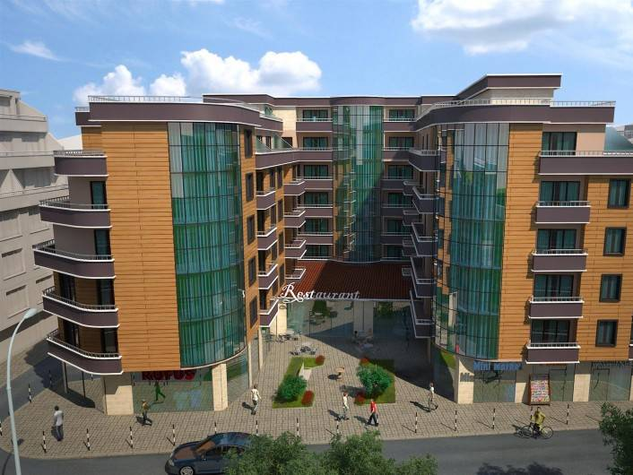 Двухкомнатная квартира Поморие 67 m2