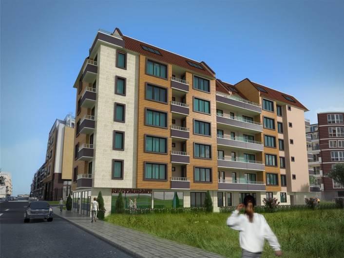 Двухкомнатная квартира Поморие 57 m2