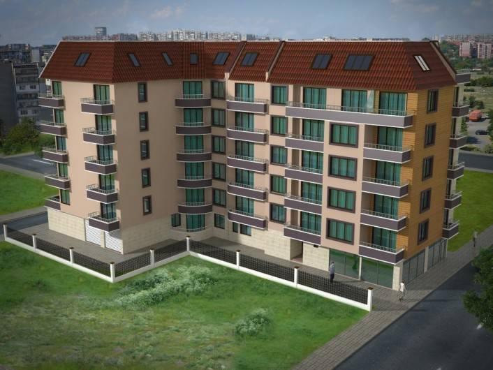 Трехкомнатная квартира Поморие 47 m2
