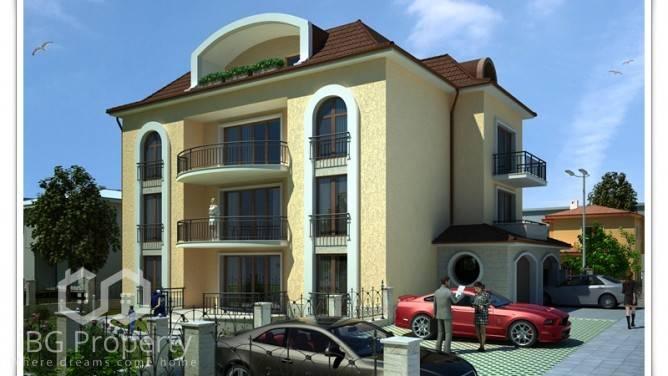 Двухкомнатная квартира Галата Варна  78 m2
