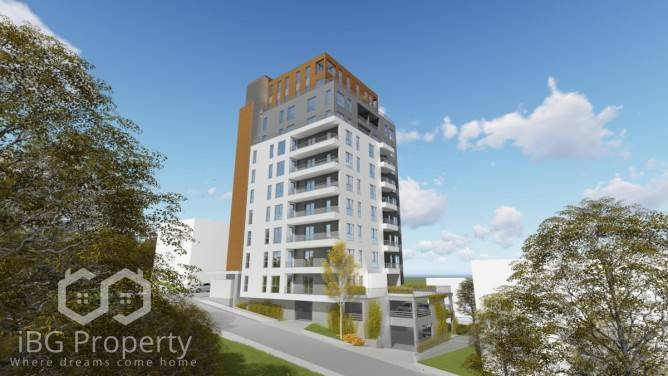 Двухкомнатная квартира Бриз Варна 79 m2