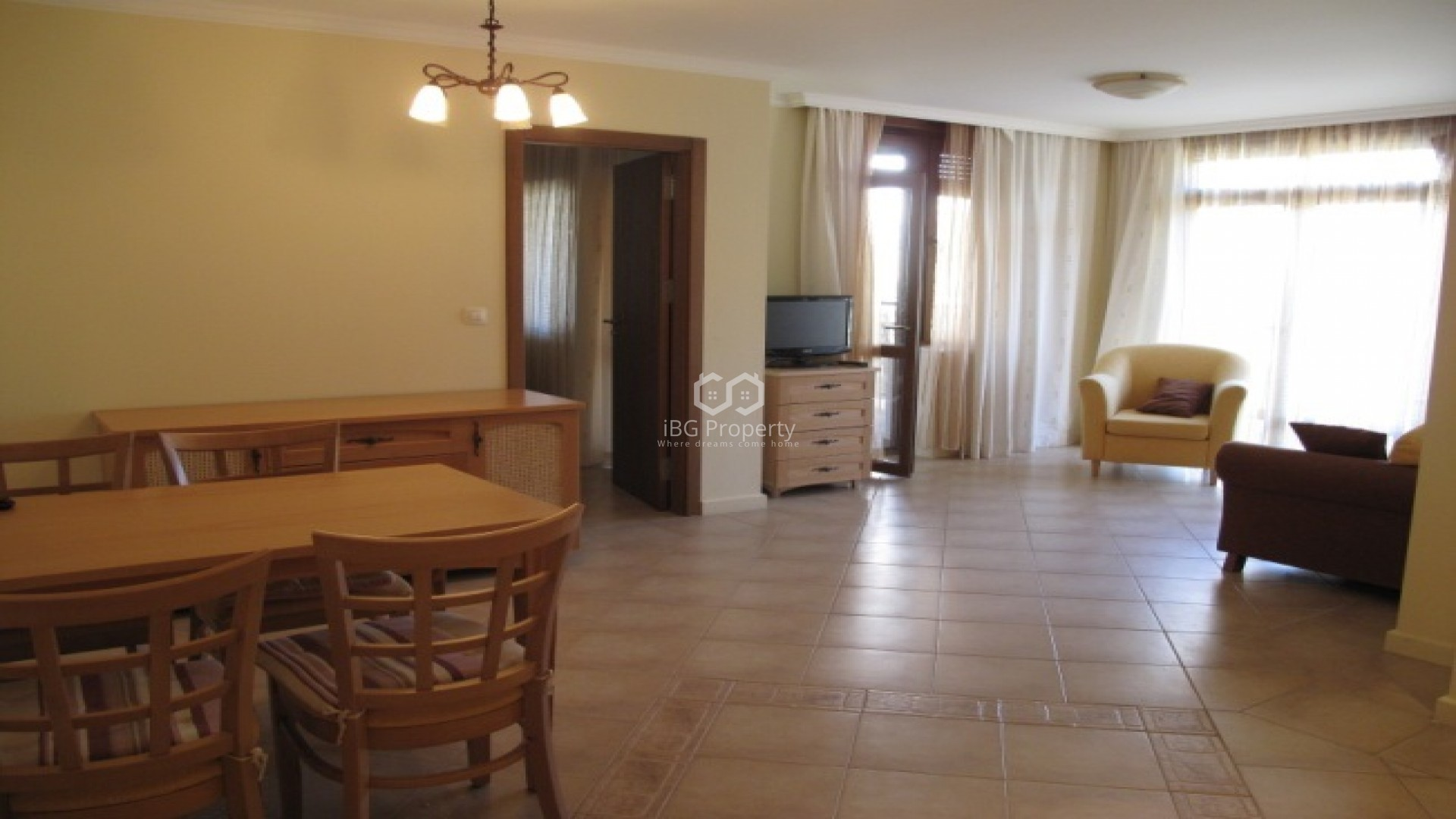 Двухкомнатная квартира Созопол  60 m2
