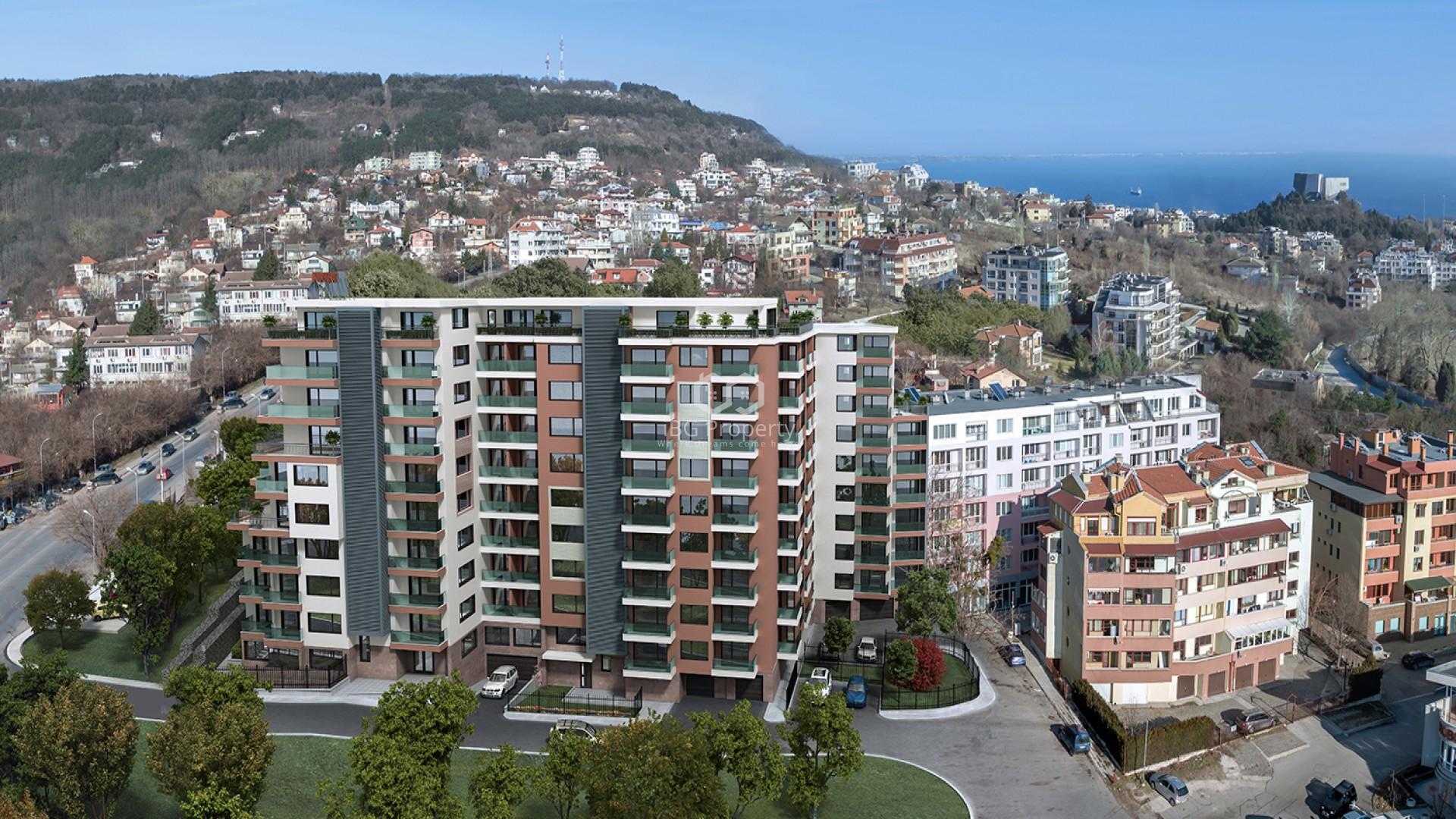 Многокомнатная квартира Бриз Варна 133 m2