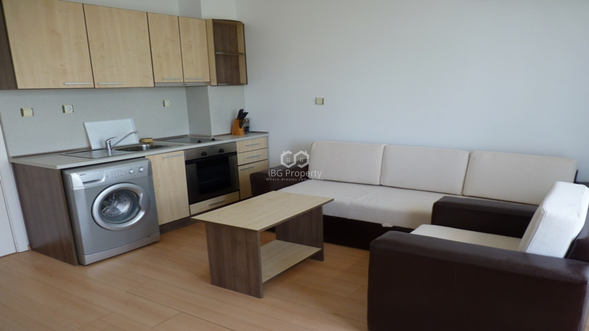 Однокомнатная квартира Слънчев Бряг 42 m2