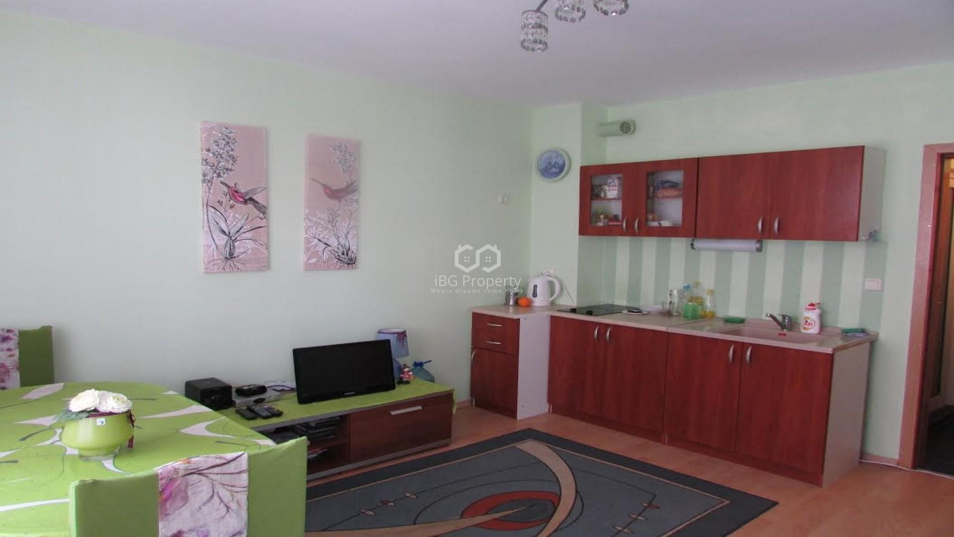 Двухкомнатная квартира Равда 46 m2
