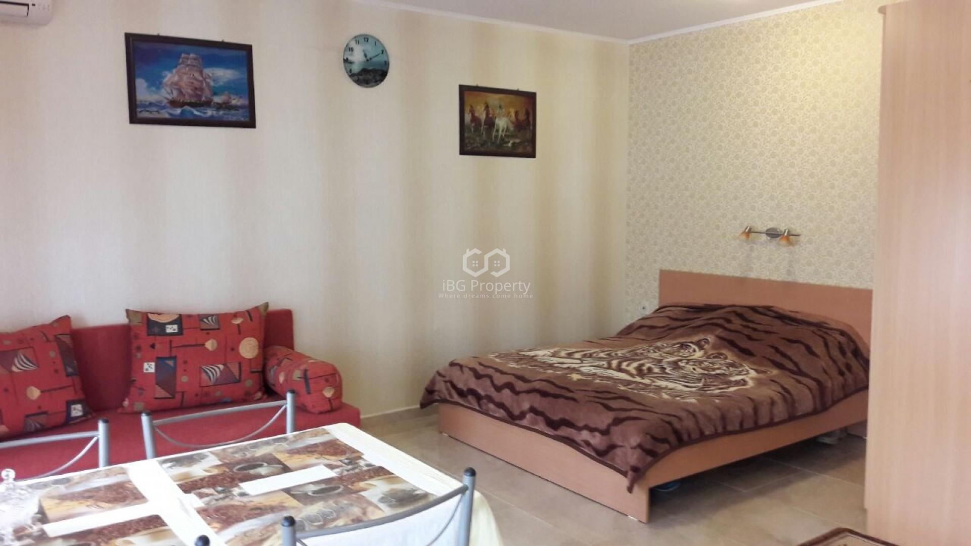 Однокомнатная квартира Черно море Несебър  34 m2
