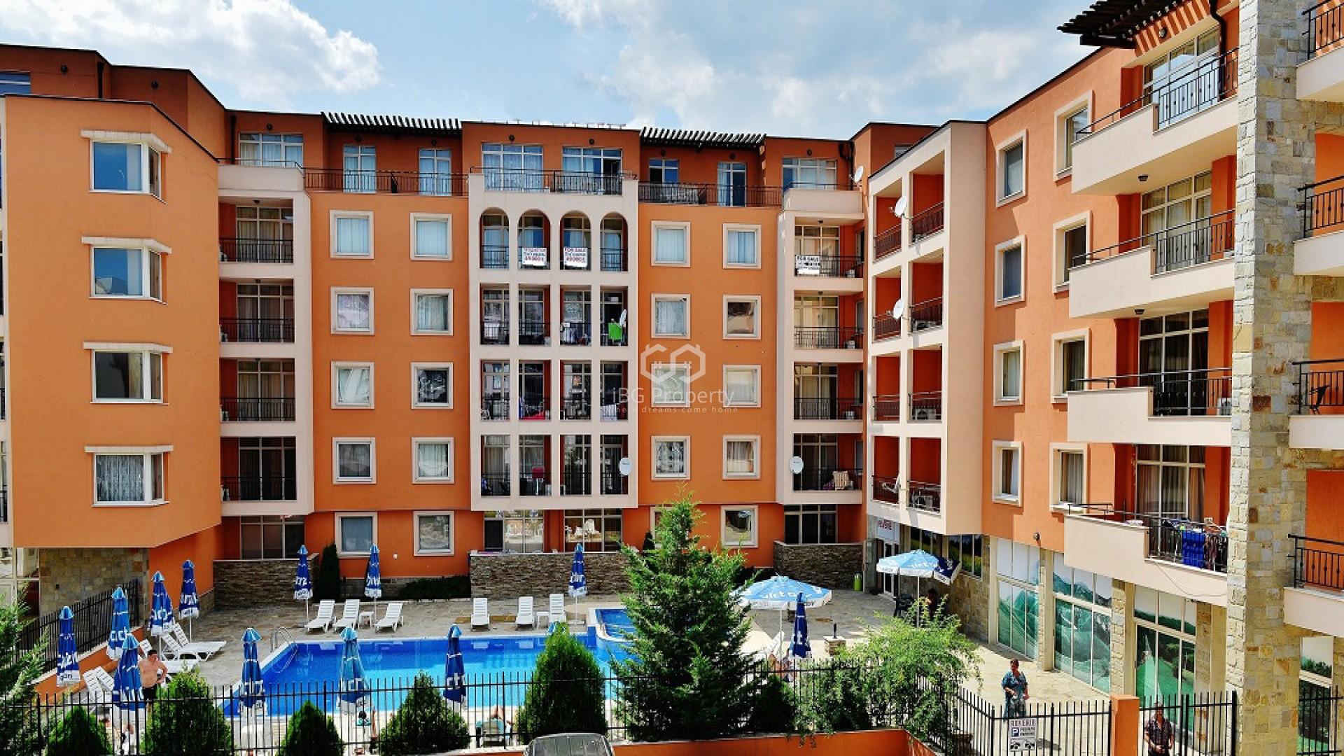 Двухкомнатная квартира Слънчев Бряг 67 m2