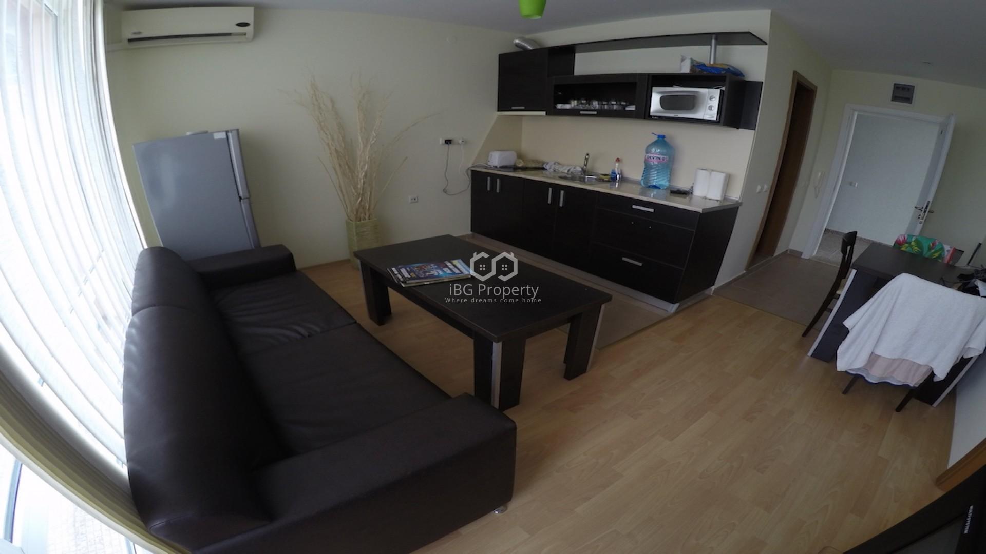 Двухкомнатная квартира Слънчев Бряг 56 m2