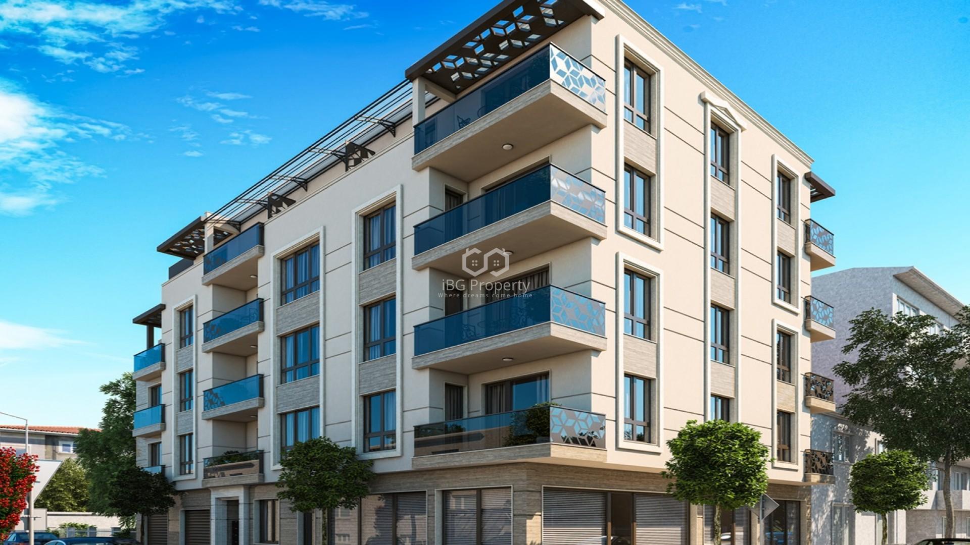Двухкомнатная квартира Поморие 38 m2