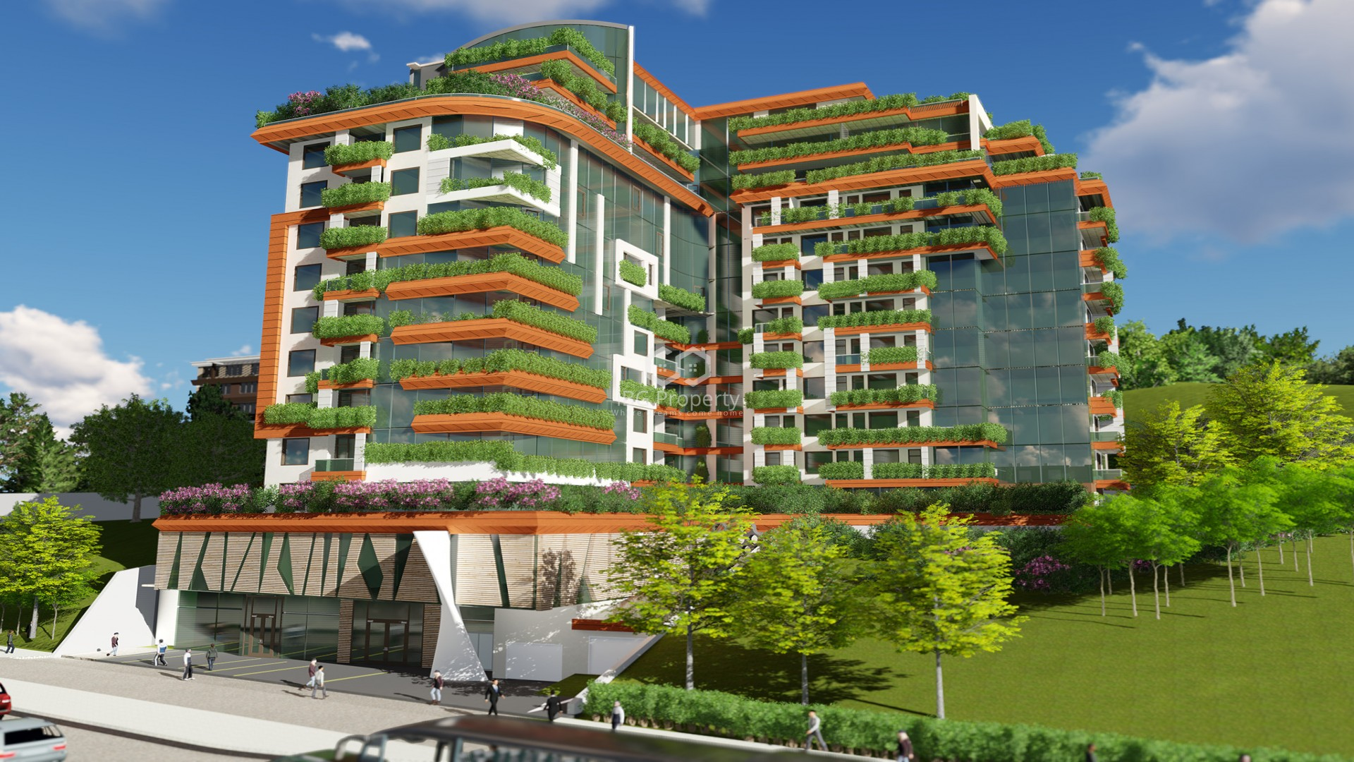 Двухкомнатная квартира Бриз Варна 69 m2