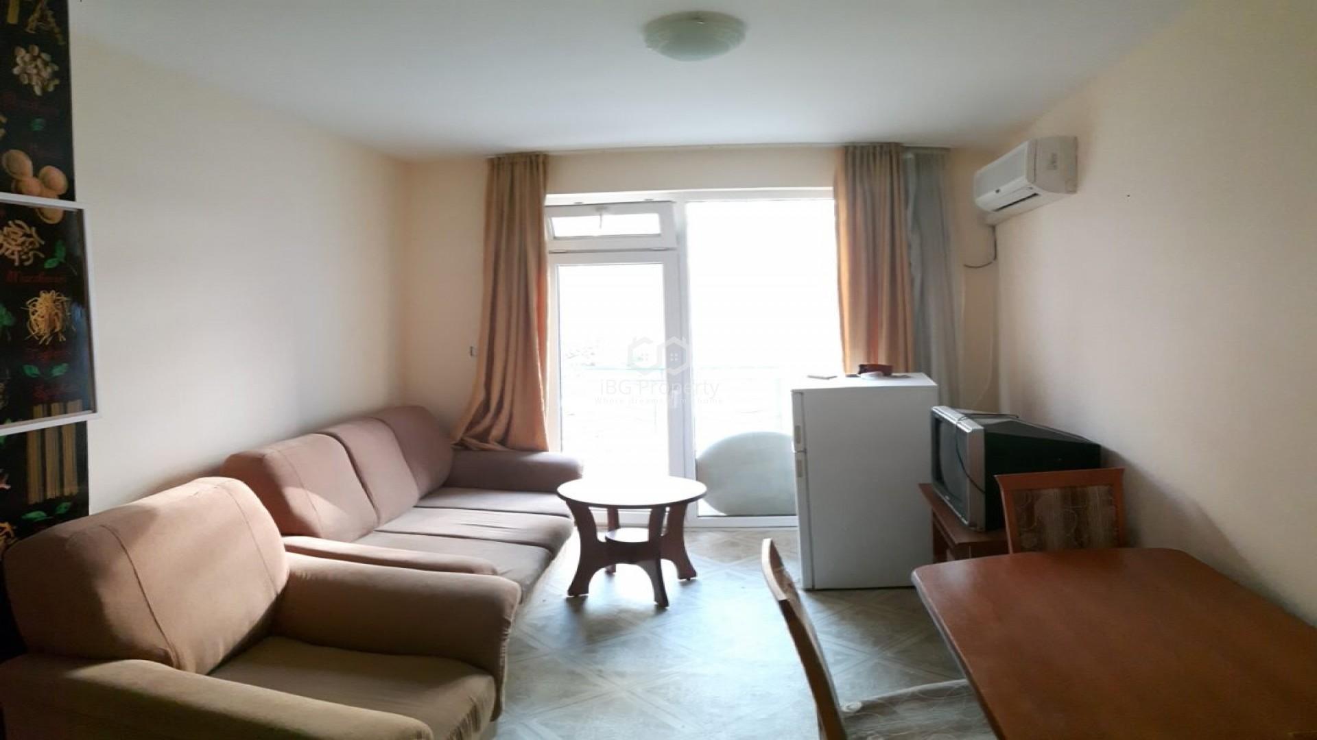 Двухкомнатная квартира Слънчев Бряг 44 m2