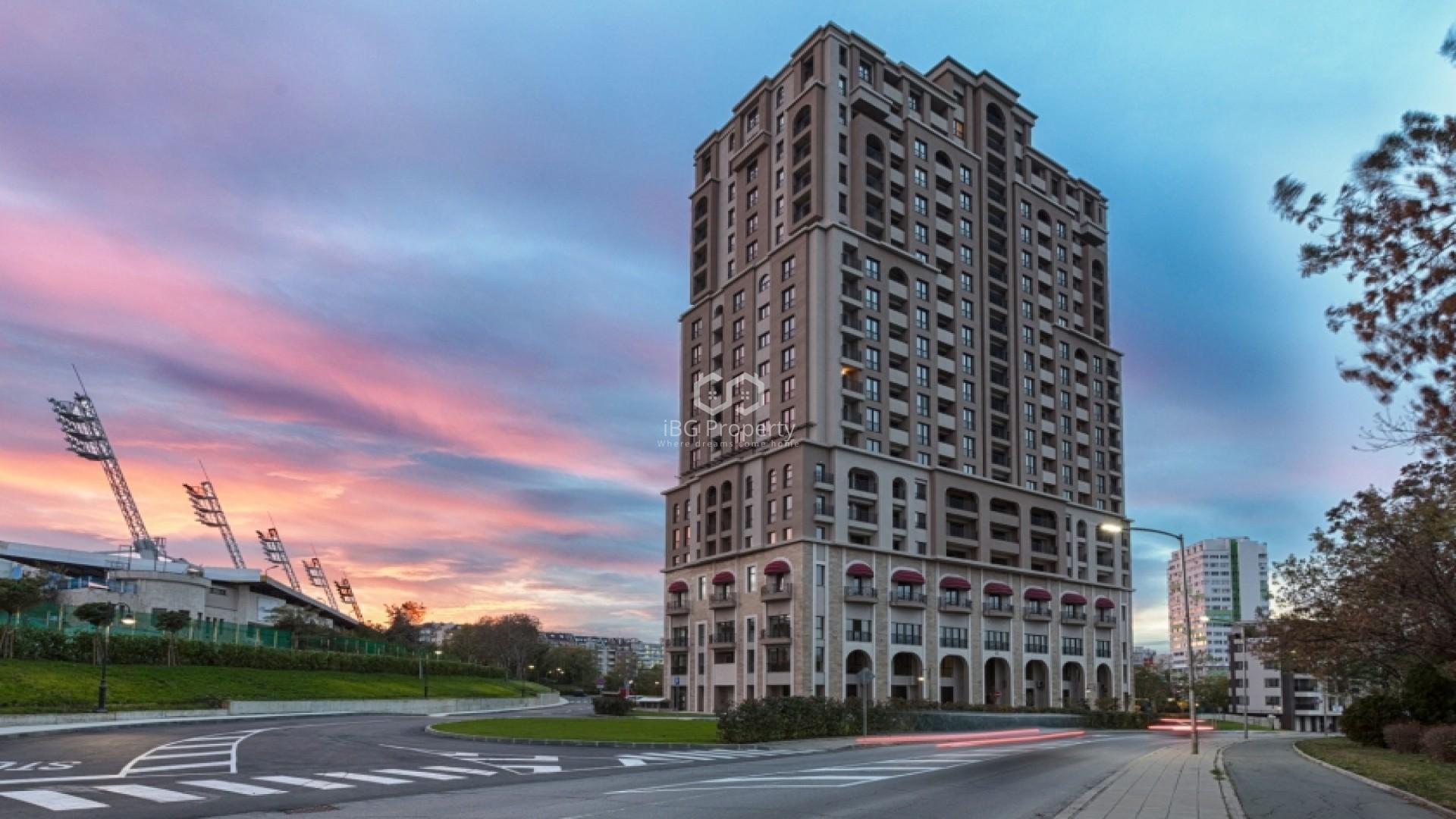 Двухкомнатная квартира Зорница Бургас  63 m2
