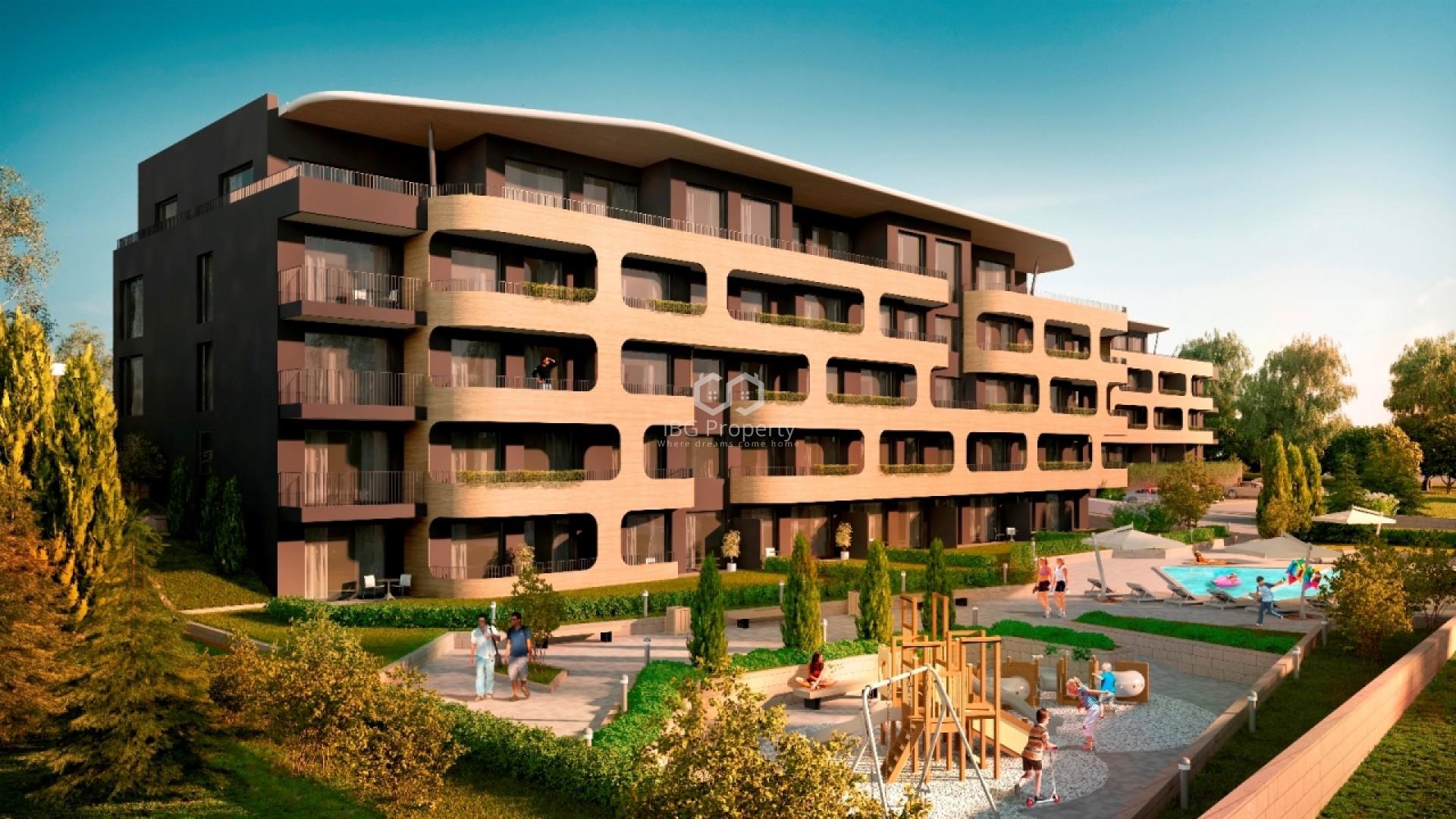 Двухкомнатная квартира Бриз Варна 54 m2
