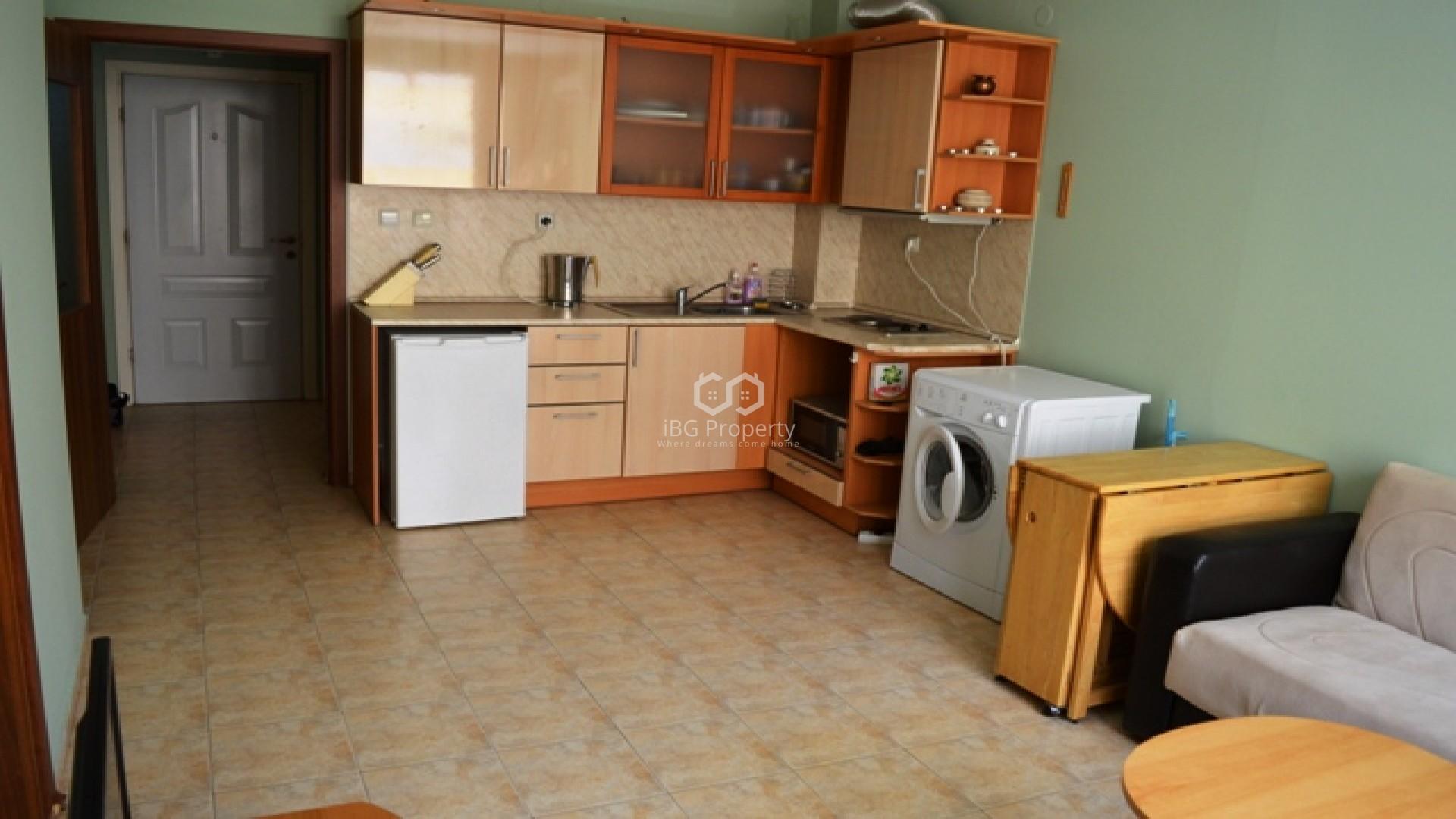 Трехкомнатная квартира Слънчев Бряг 58 m2