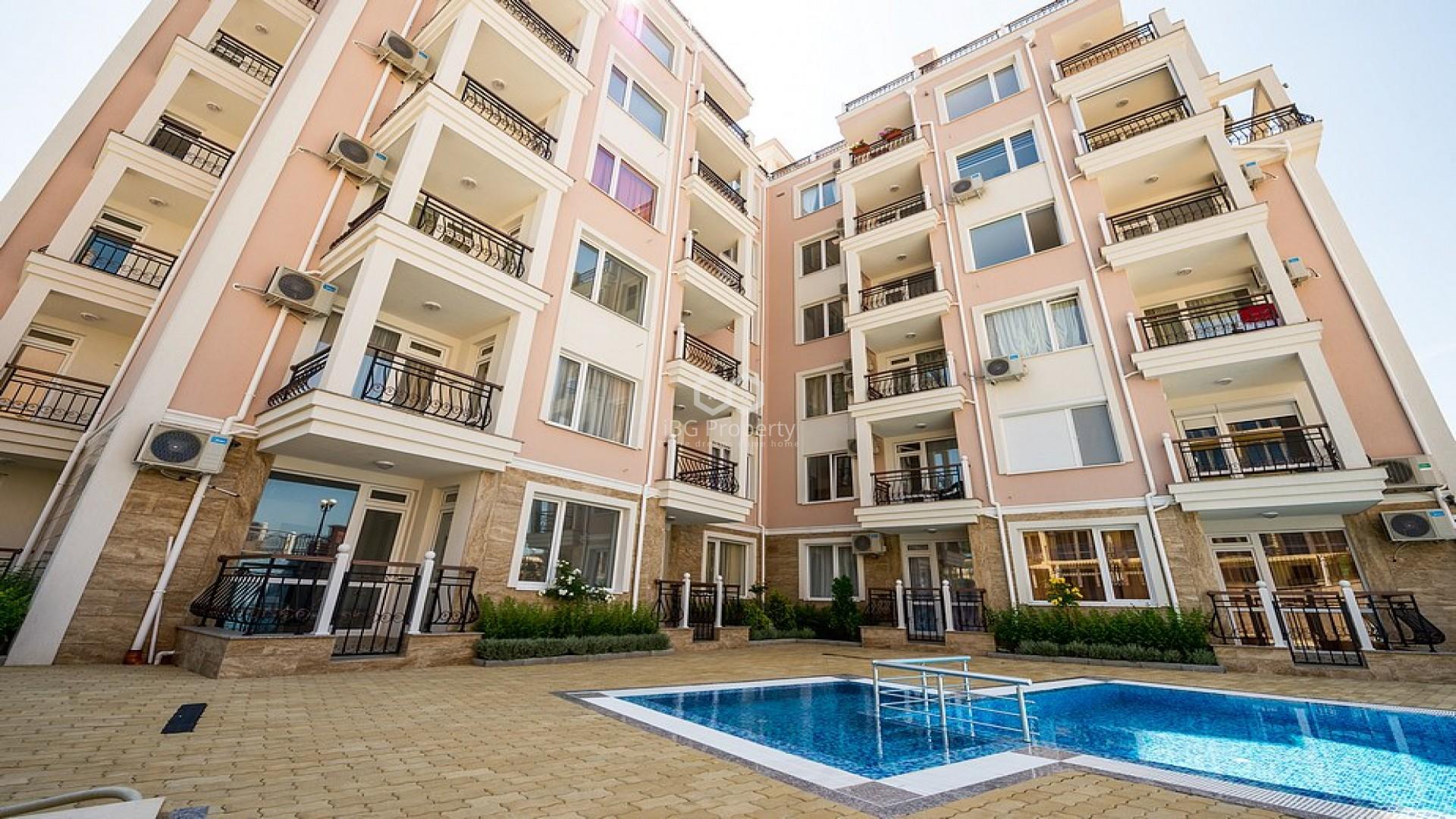 Двухкомнатная квартира Свети Влас 81 m2
