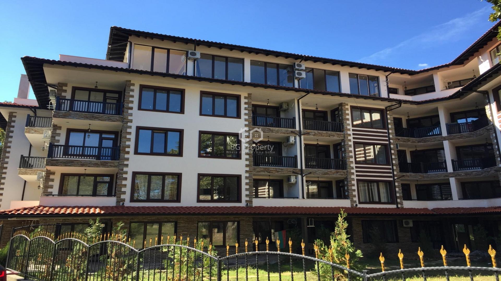 Двухкомнатная квартира Приморско 49 m2