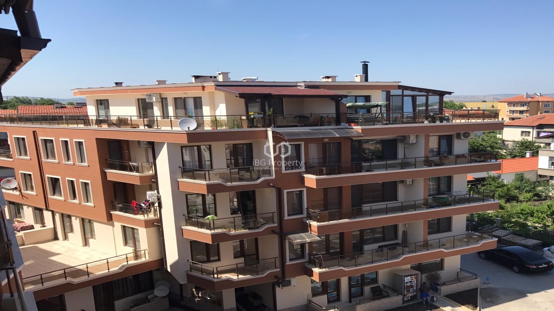 Двухкомнатная квартира Сарафово Бургас 53 m2