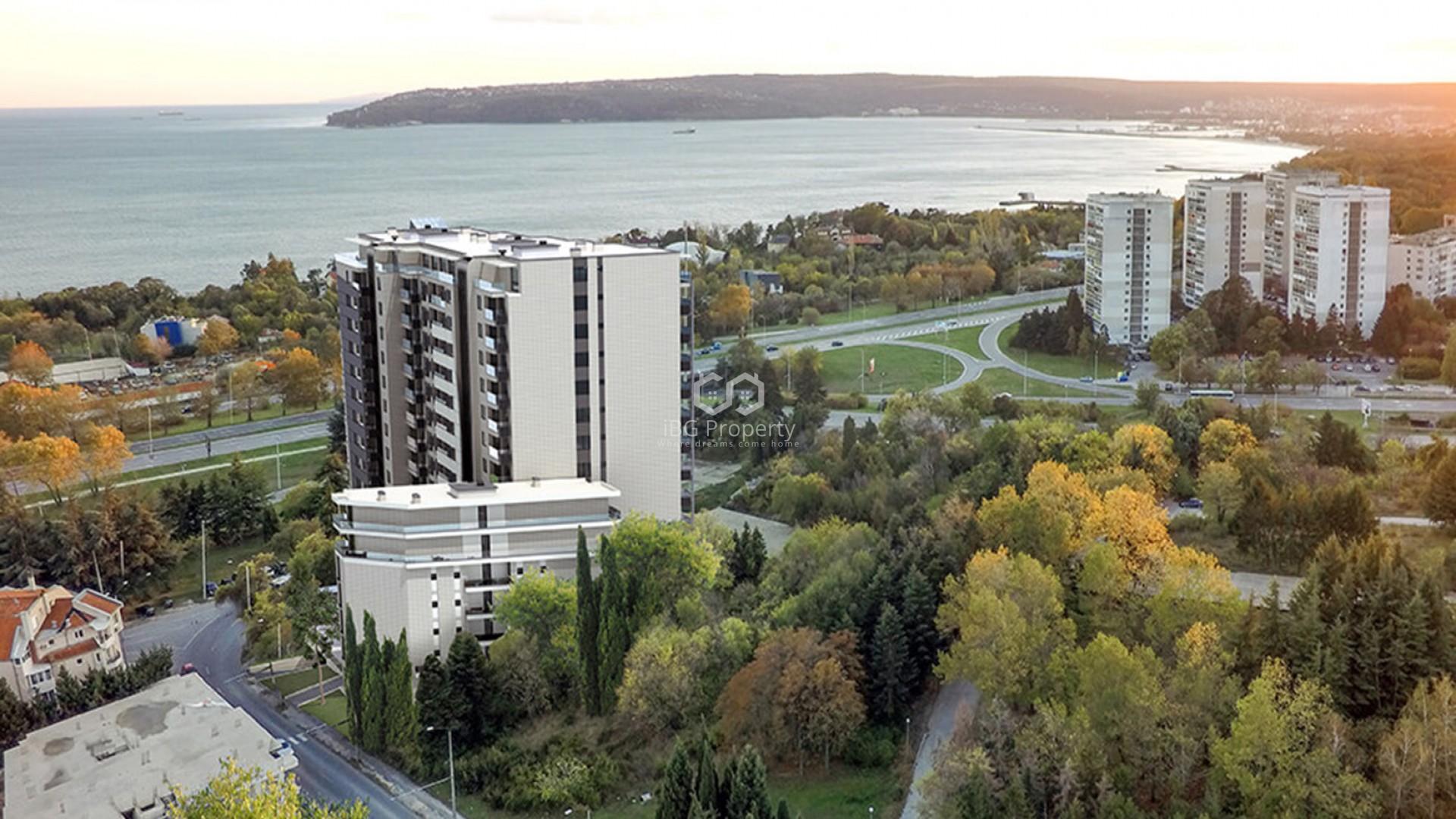 Двухкомнатная квартира Бриз Варна 63 m2