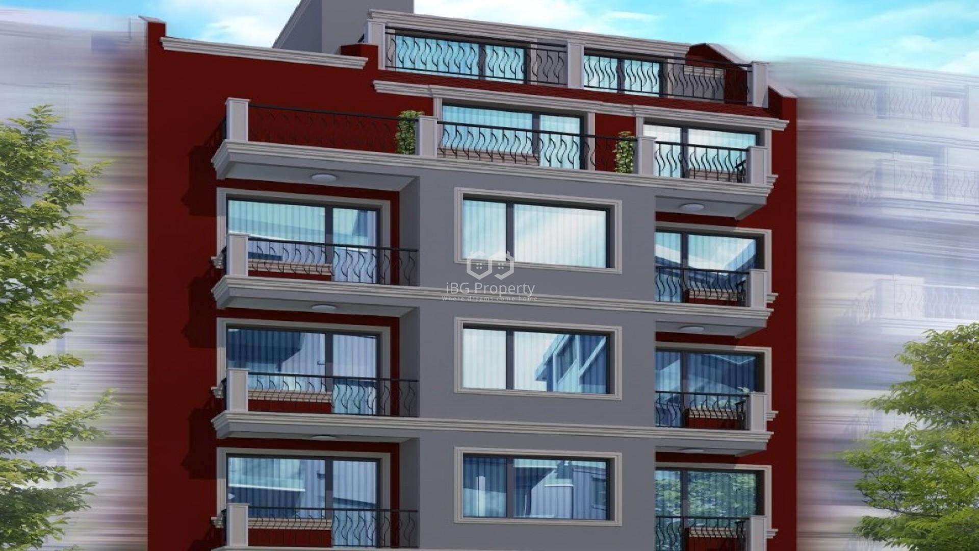 Трехкомнатная квартира Цветен квартал Варна 98 m2