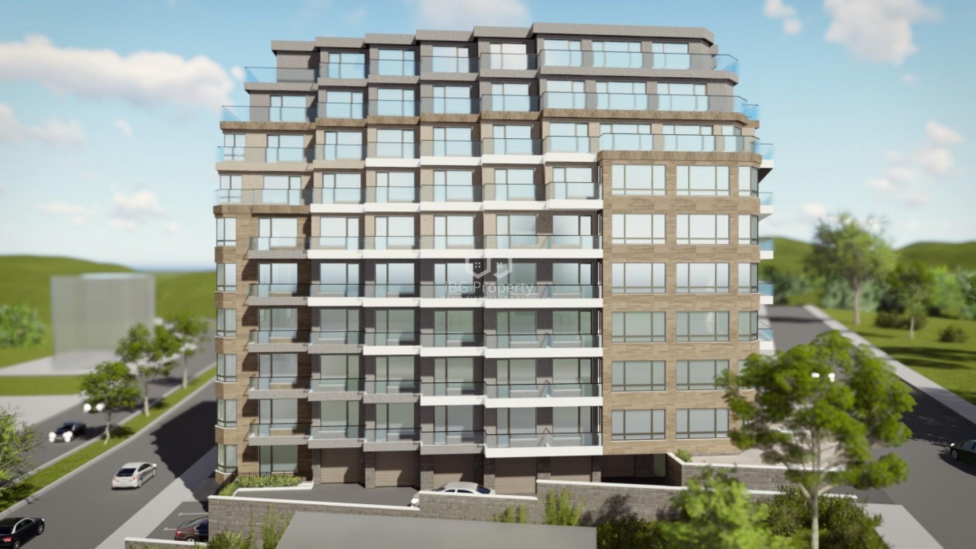 Трехкомнатная квартира Левски Варна 115,48 m2