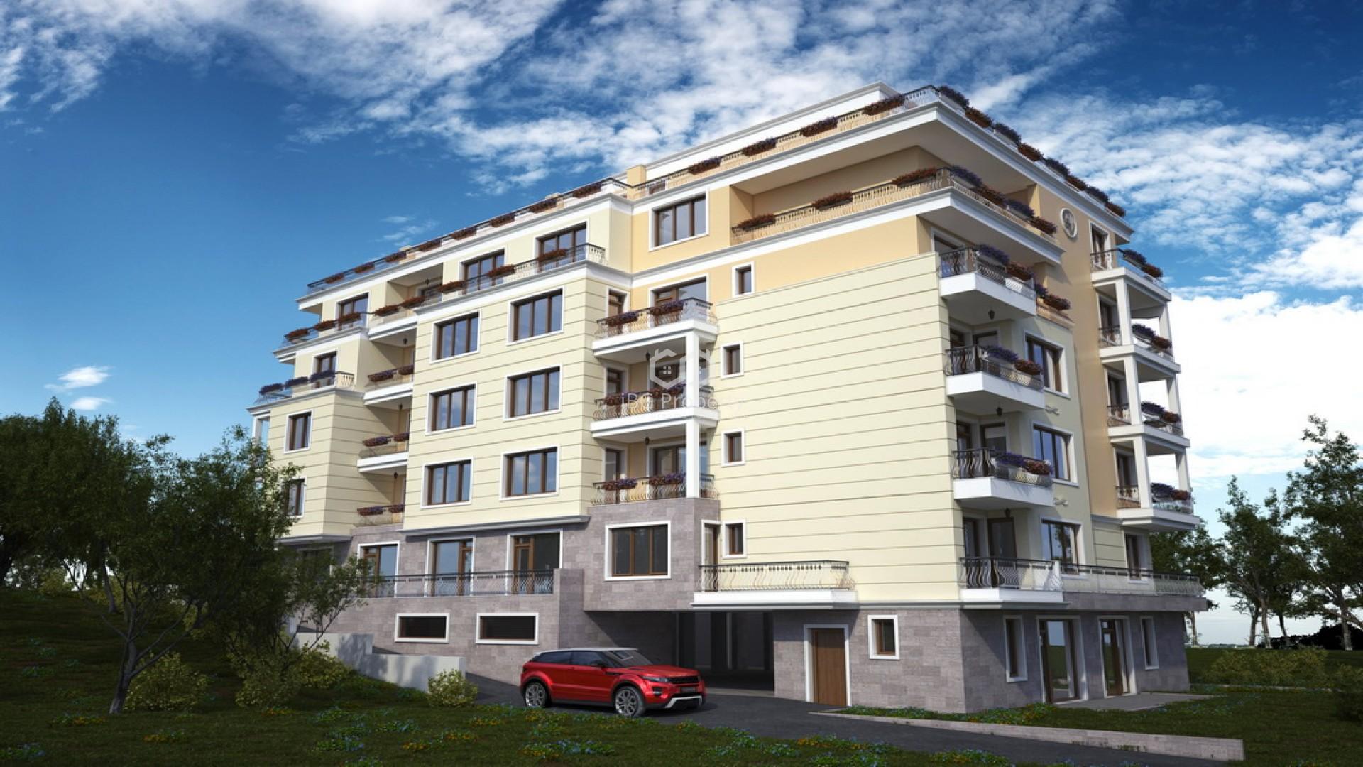 Двухкомнатная квартира Святой Влас 47 m2