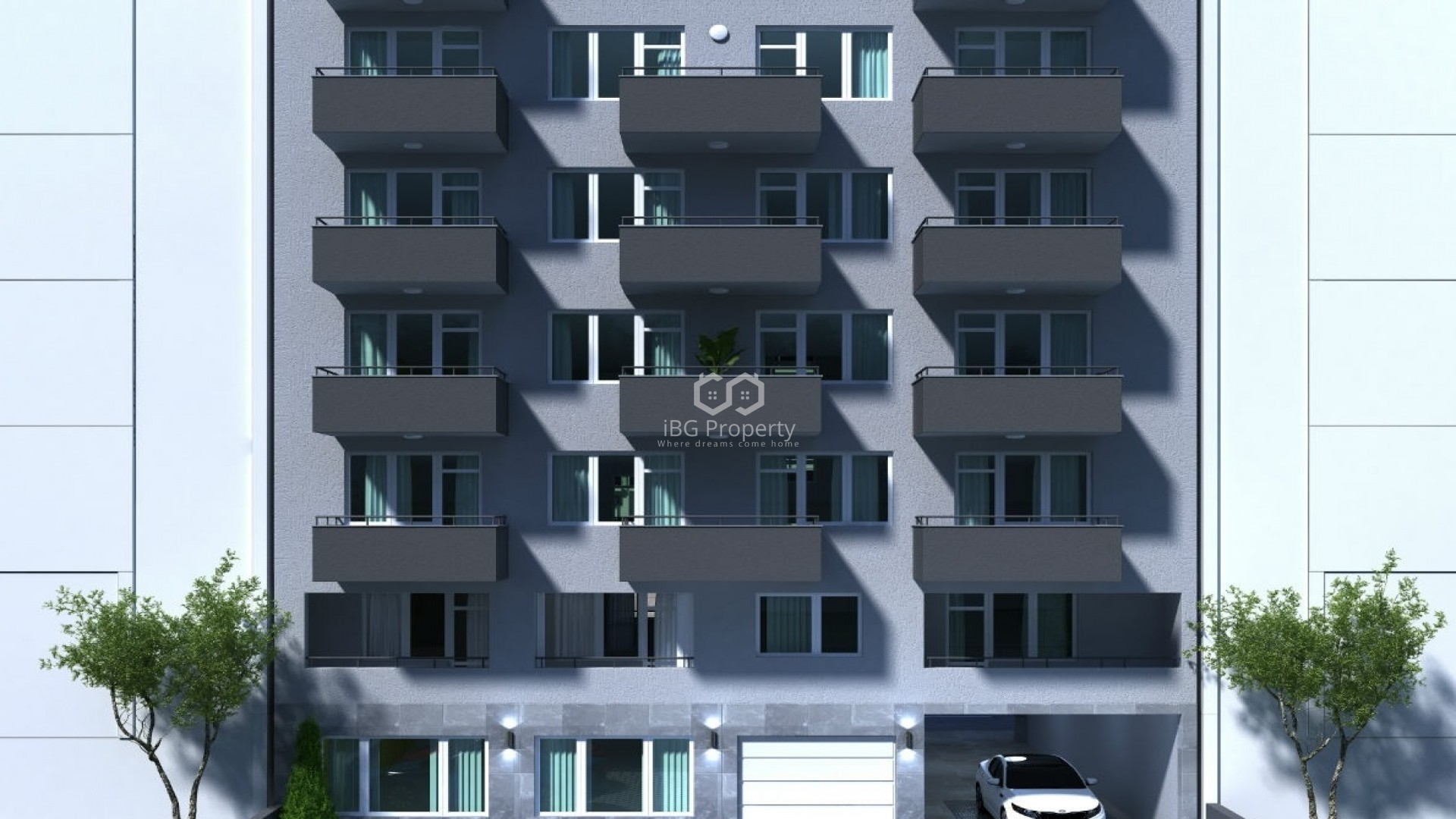 Двухкомнатная квартира Колхозен пазар Варна 61 m2