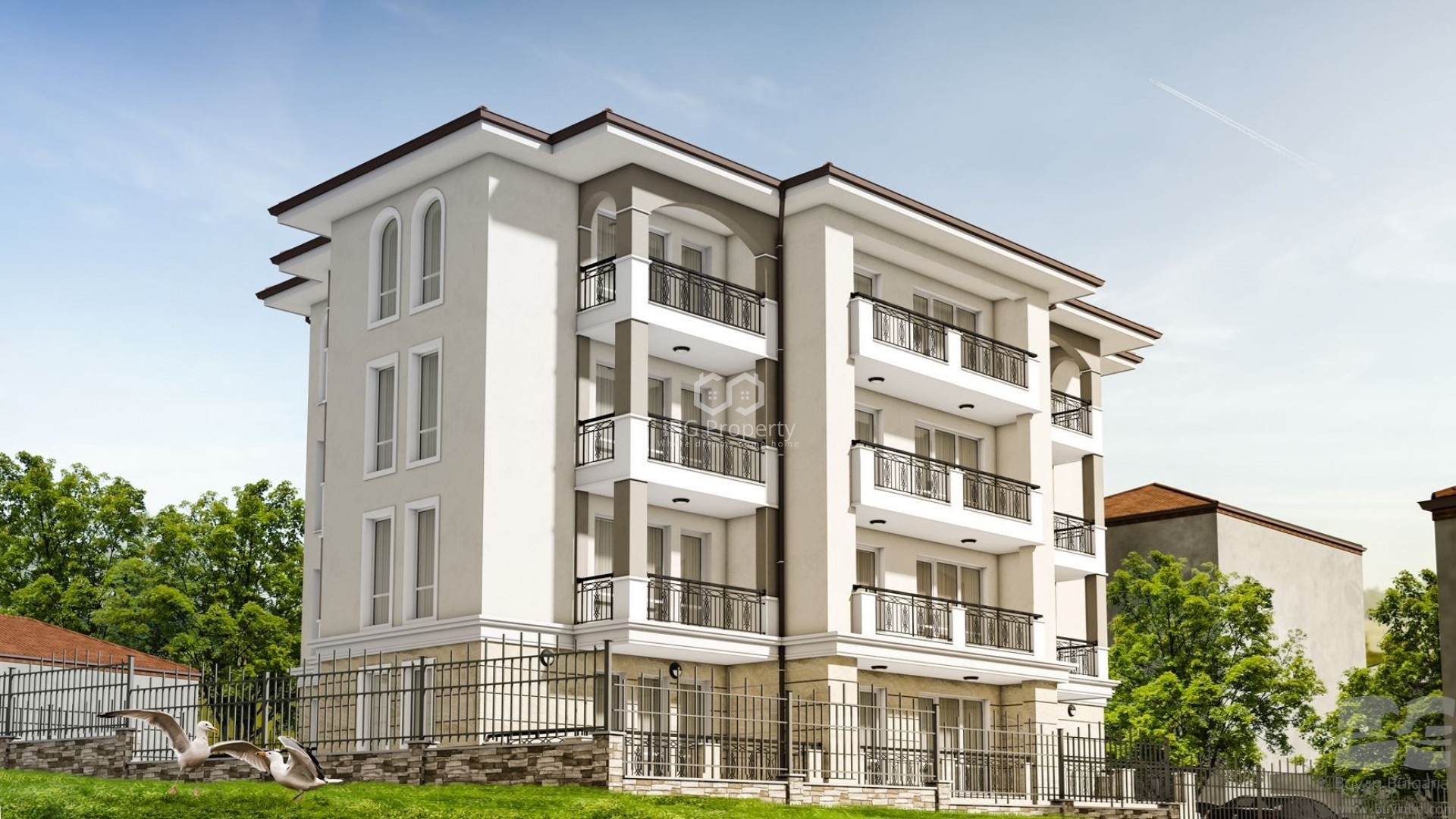 Двухкомнатная квартира Галата Варна 61 m2