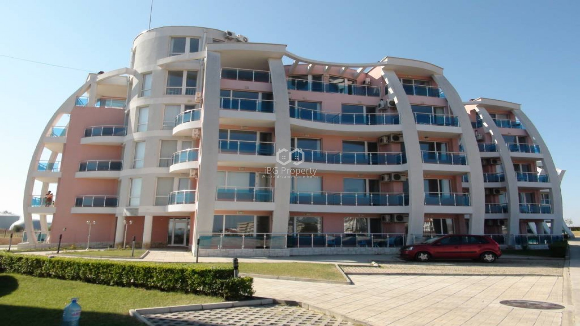 Двухкомнатная квартира Ахелой 71 m2