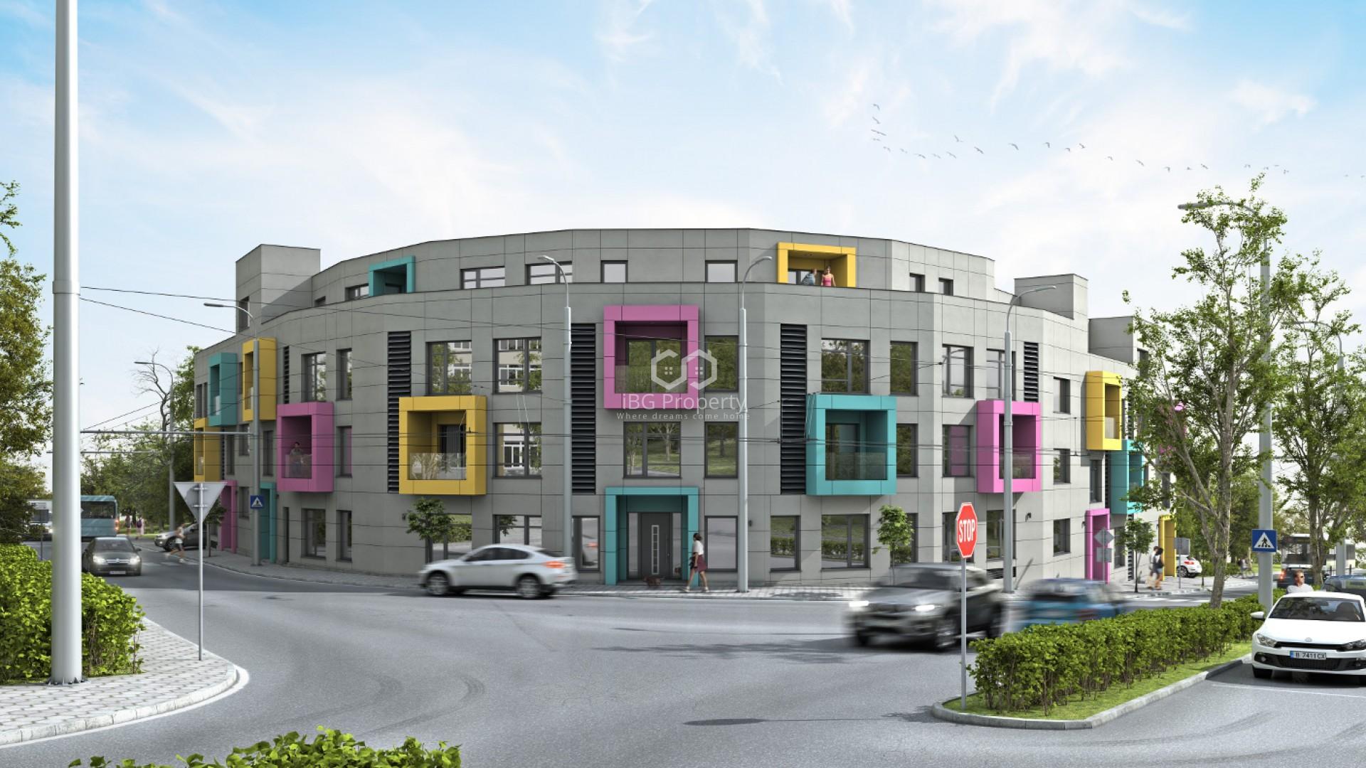Двухкомнатная квартира Бриз Варна 99,09 m2