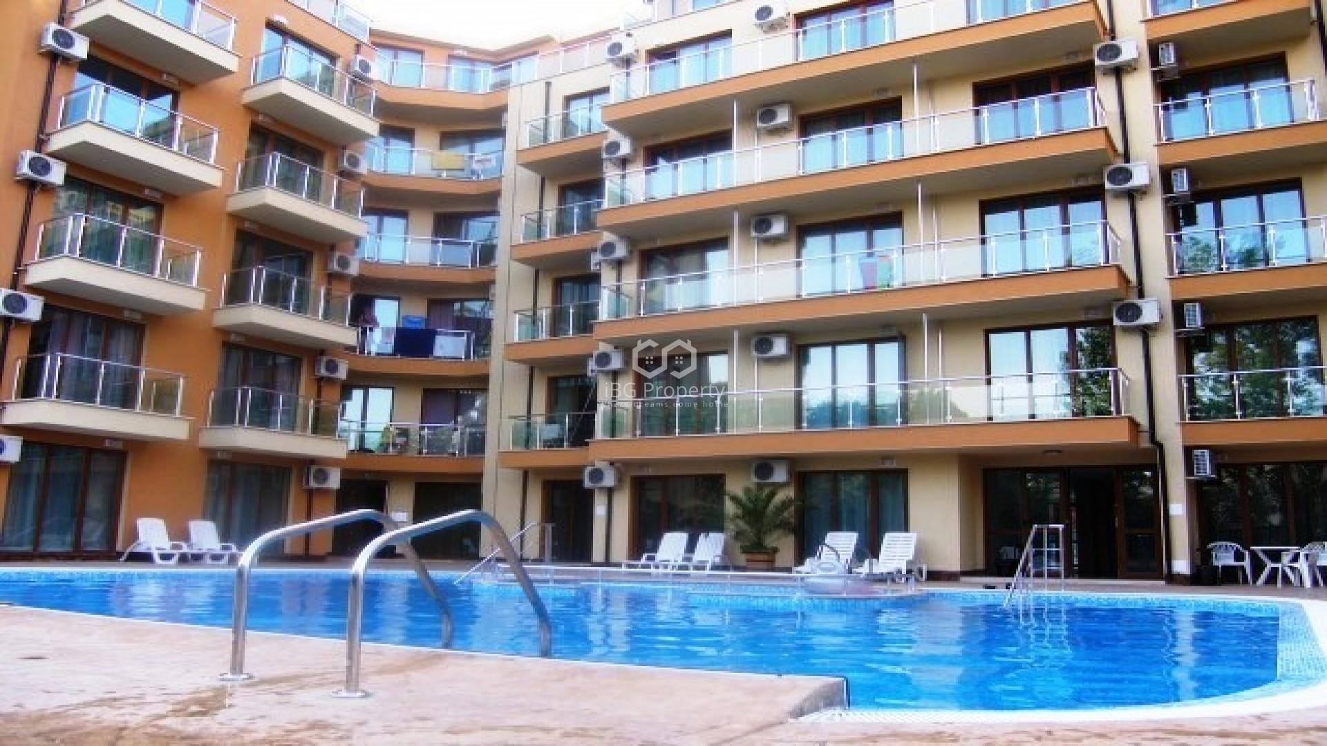 Однокомнатная квартира Слънчев Бряг 36,5 m2