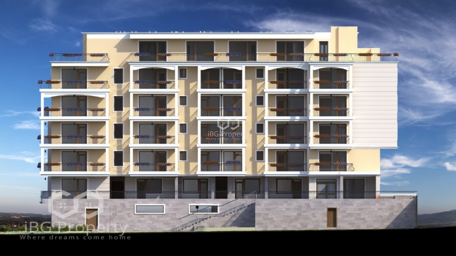 Однокомнатная квартира Святой Влас 51 m2
