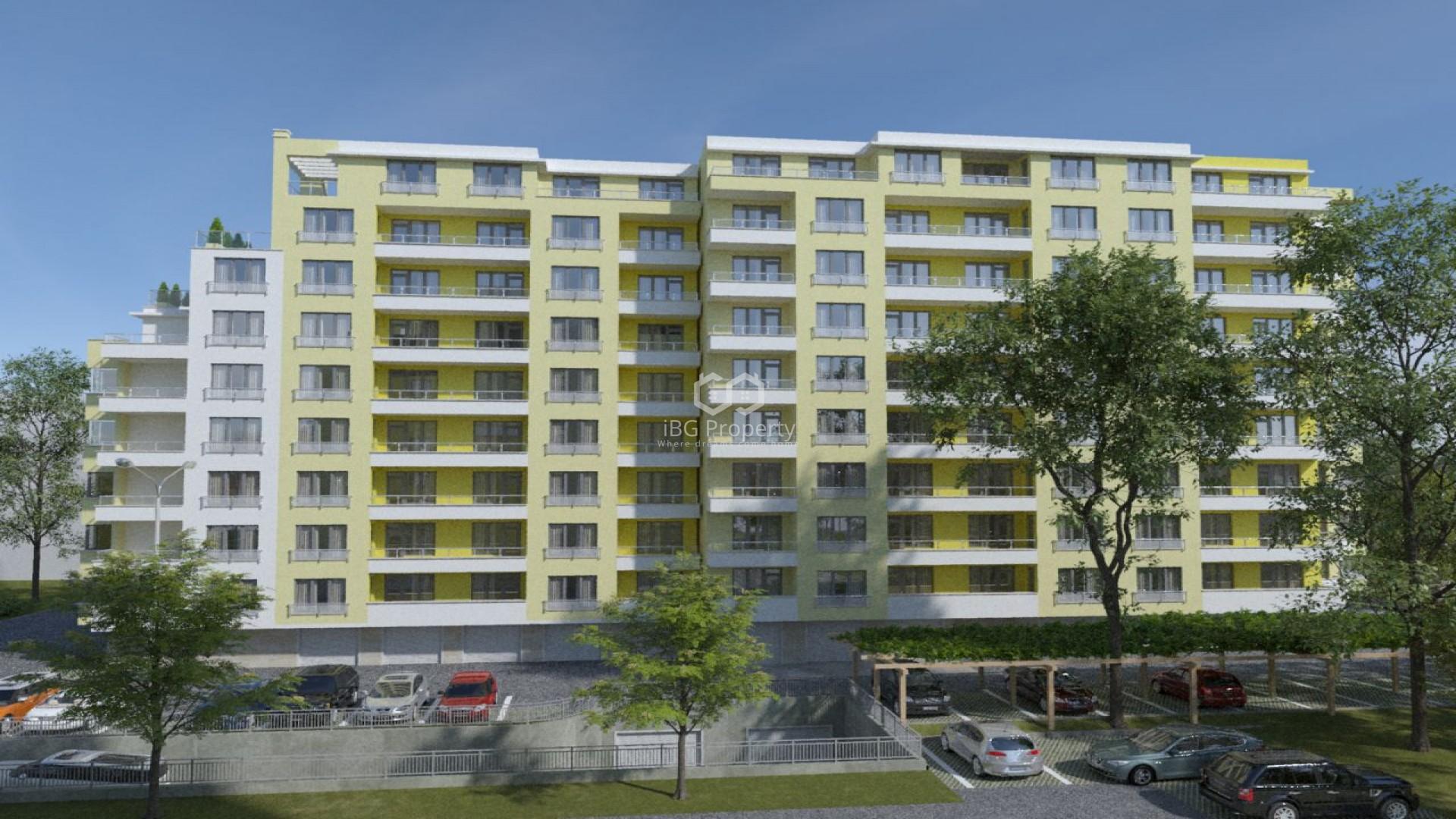 Трехкомнатная квартира Победа Варна 95,33 m2