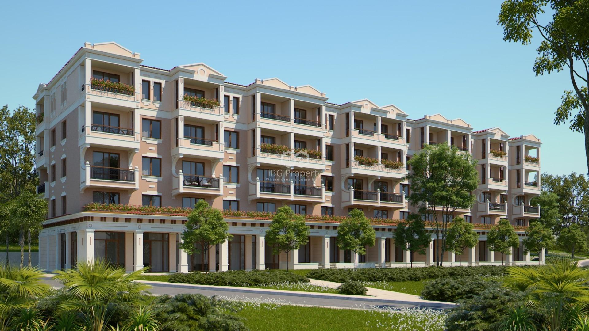 Двухкомнатная квартира Созопол  60,36 m2