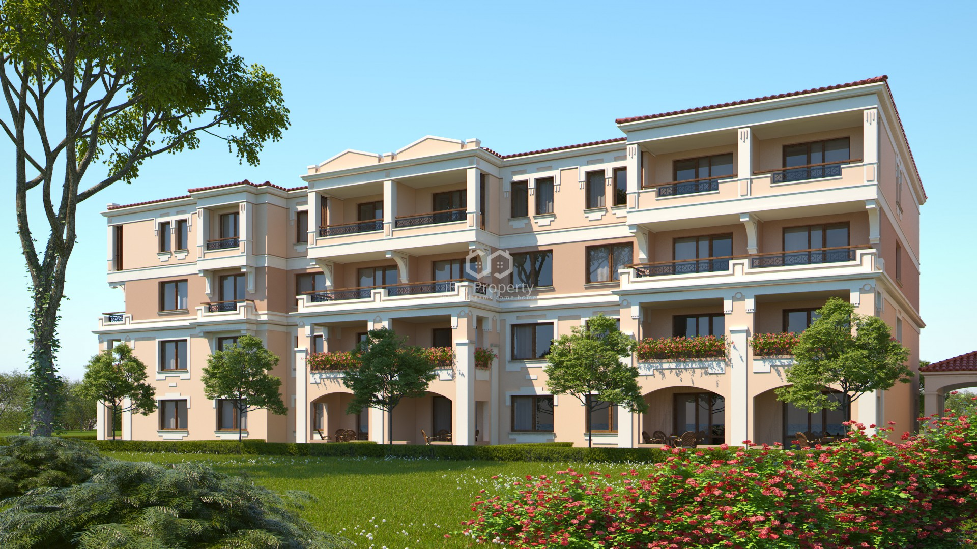 Двухкомнатная квартира Созопол  48,27 m2