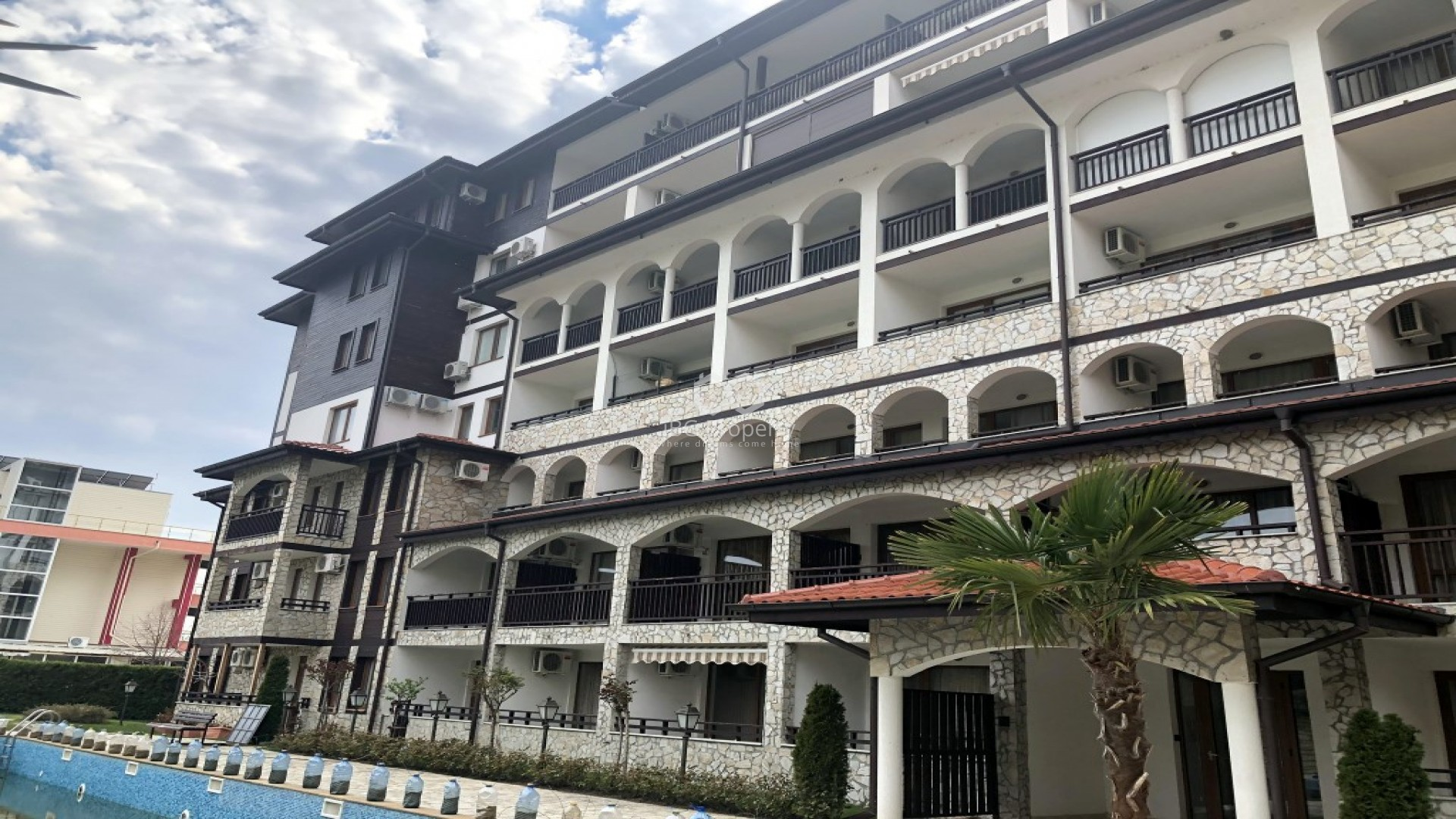 Однокомнатная квартира Святой Влас 35 m2