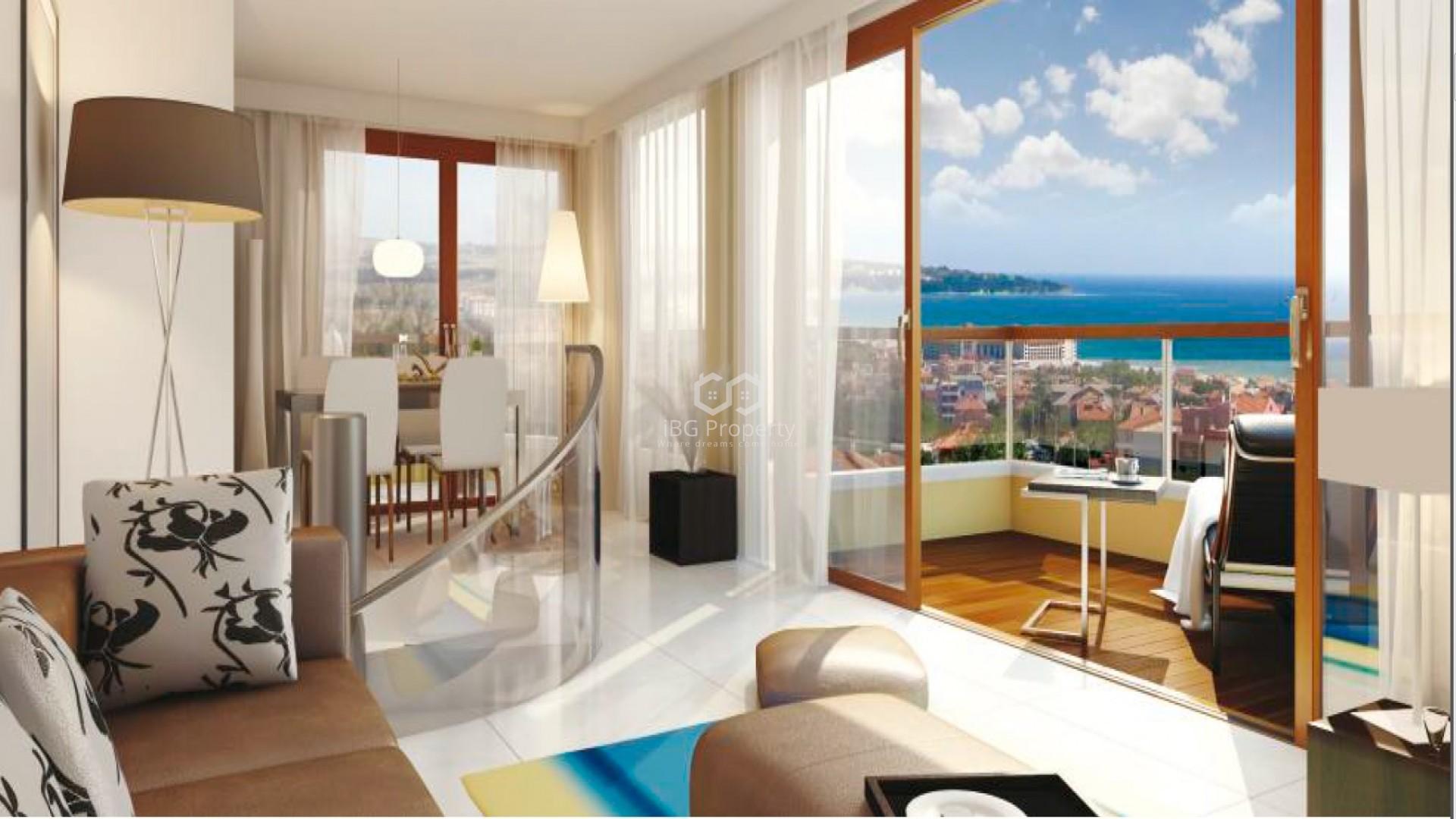 Двухкомнатная квартира Обзор 103 m2