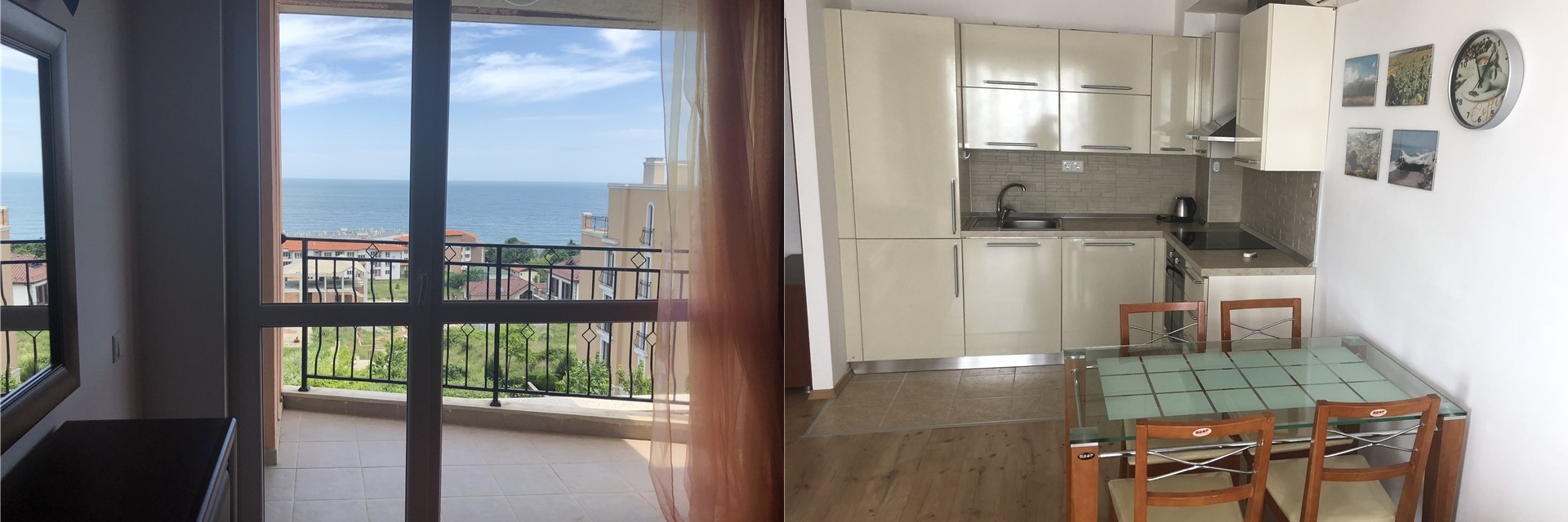 Апартамент с панорамой моря